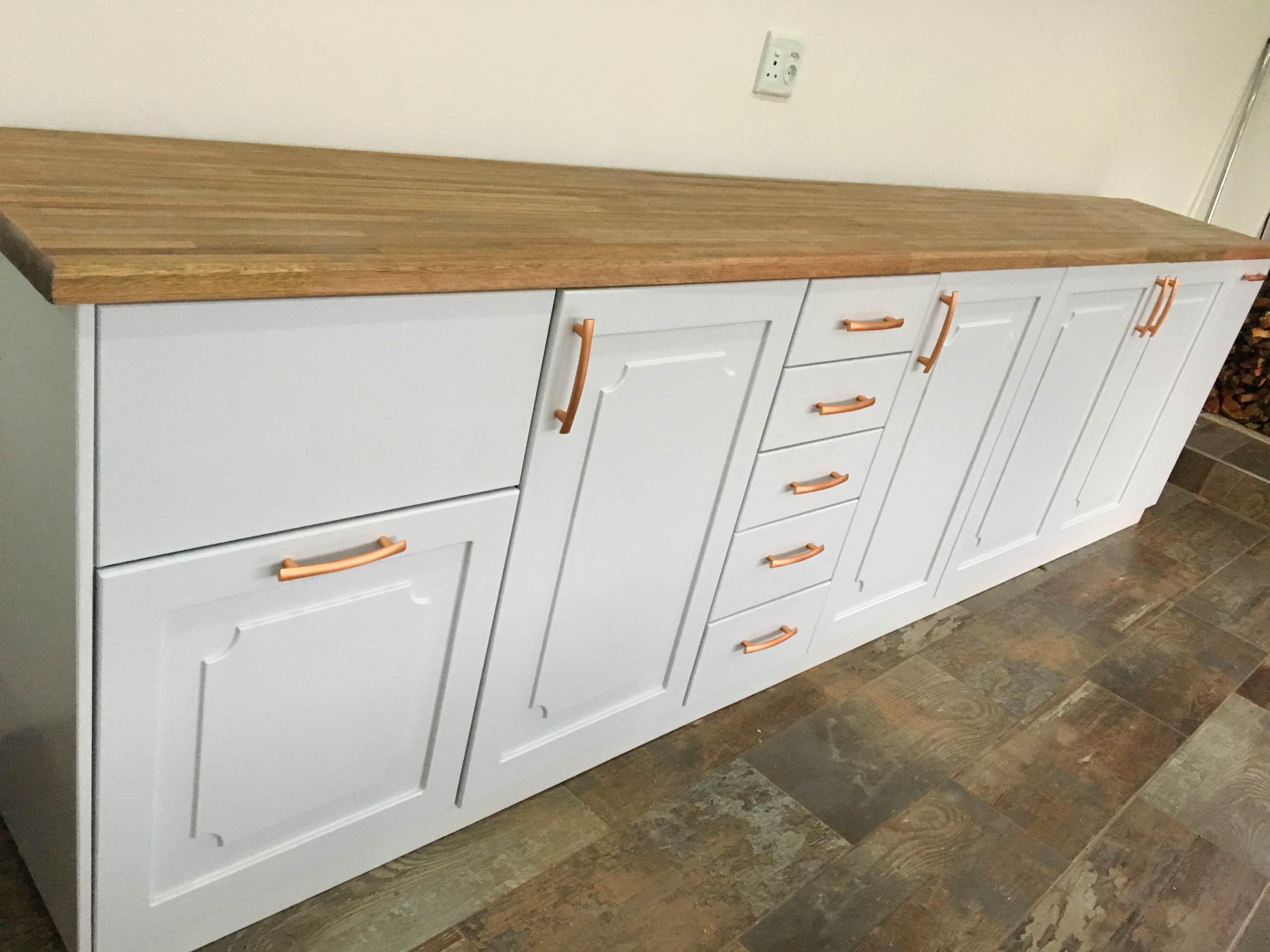 Design Furniture - White Wooden Cabinet
