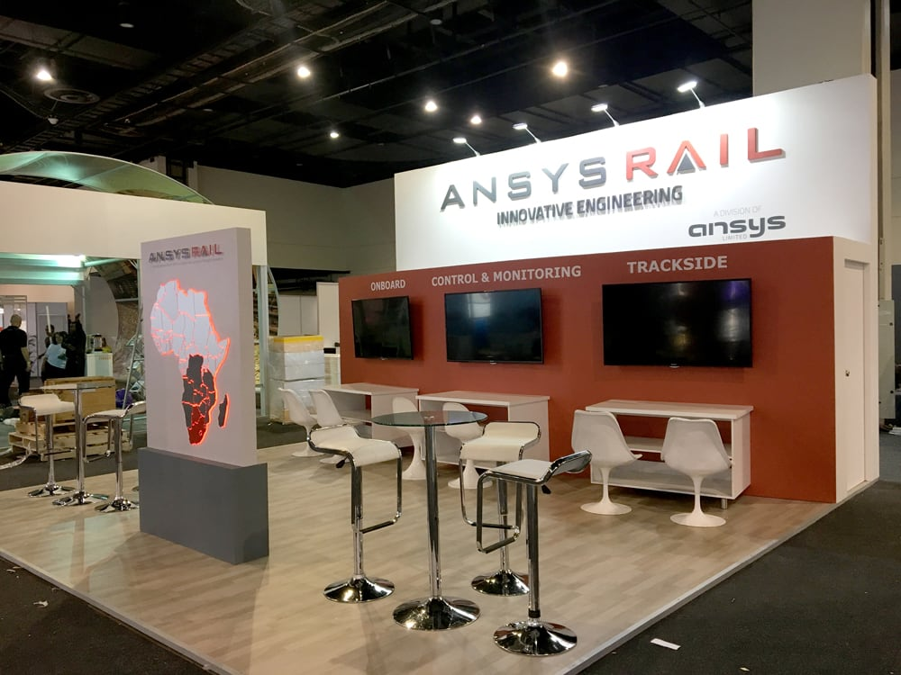 Exhibition Stands - AnsysRail