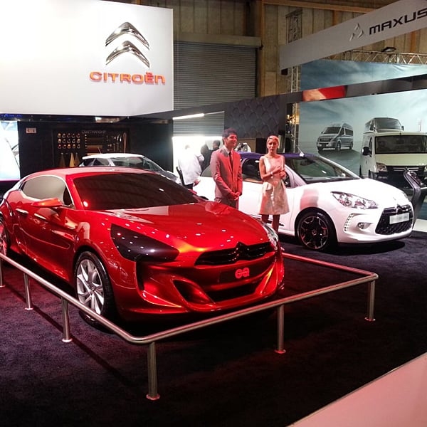 Exhibition Stands - Citroen