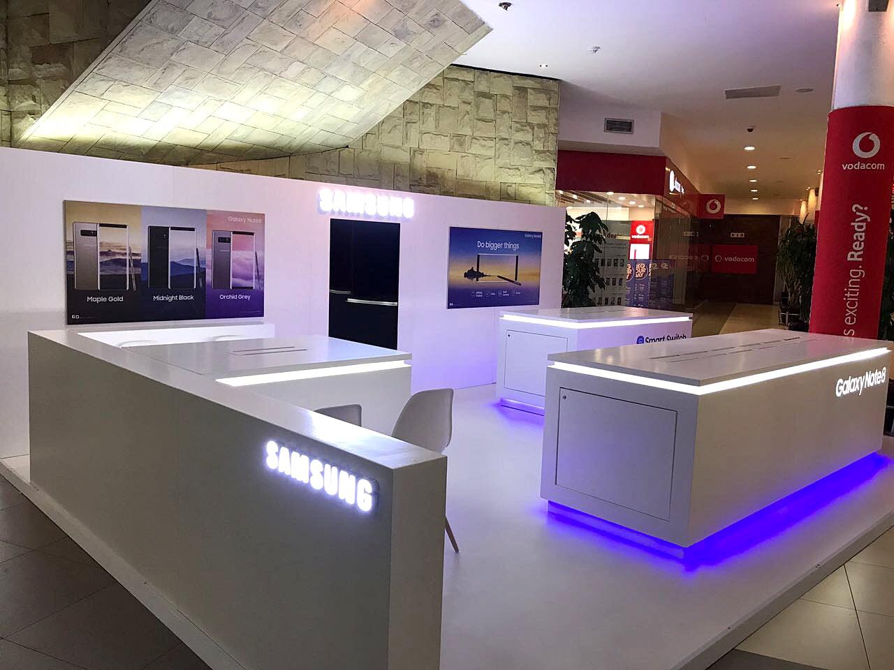 Exhibition Stands - Samsung