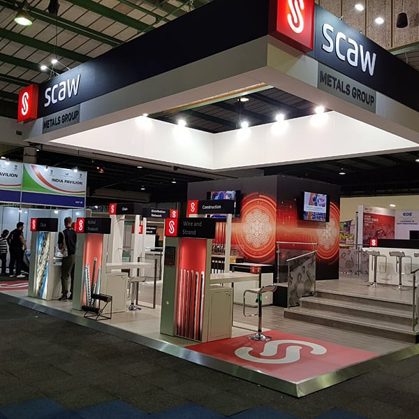 Exhibition Stands - Scaw Metals