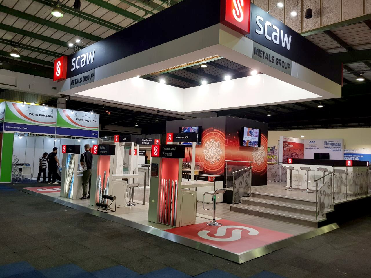 Exhibition Stands - Scaw Metals