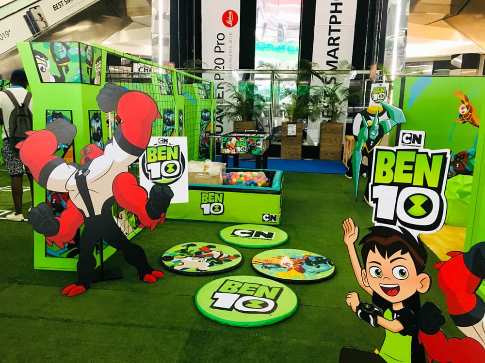 Mall Activations - Ben 10