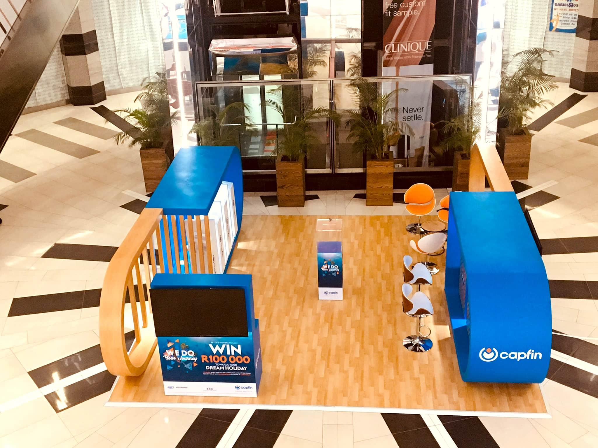Mall Activations - Capfin