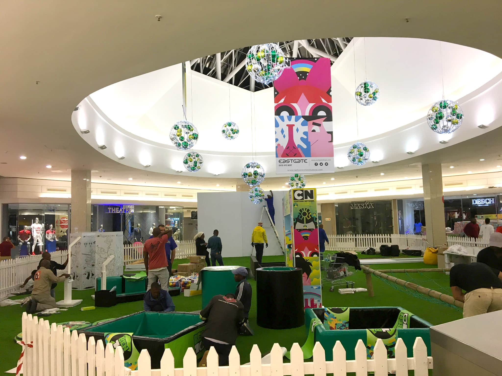 Mall Activations - Eastgate - Ben 10