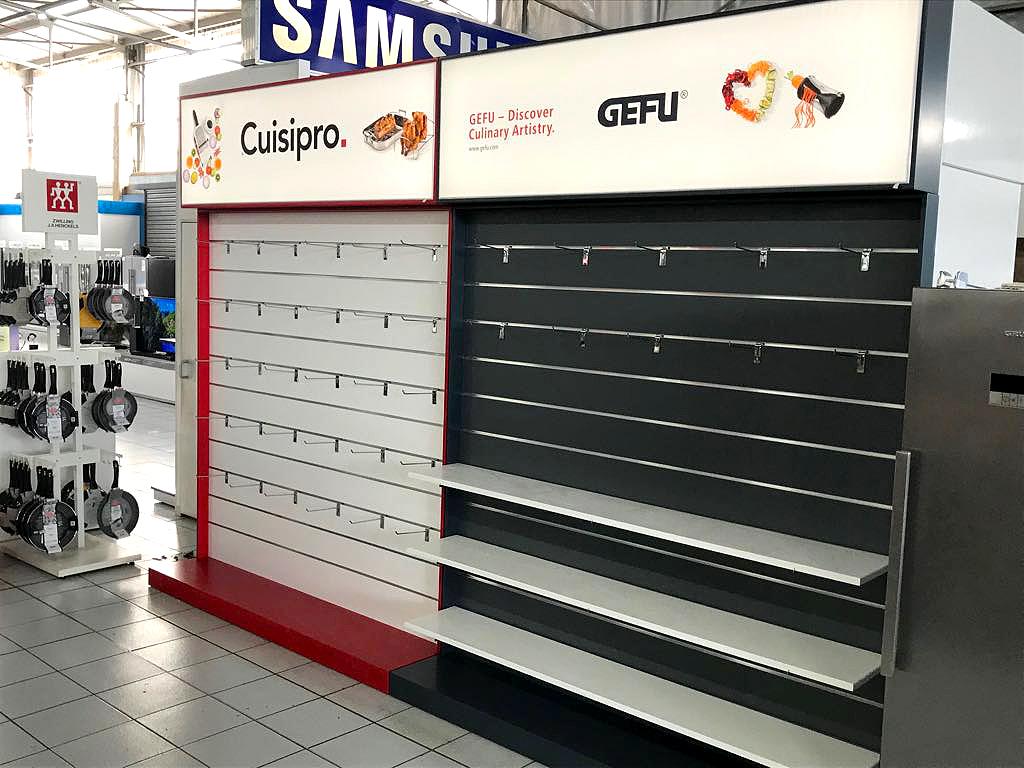 Shop Fitting - Gefu