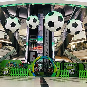 Umtunzi design excellence with Ben 10 Mall Activations 2018