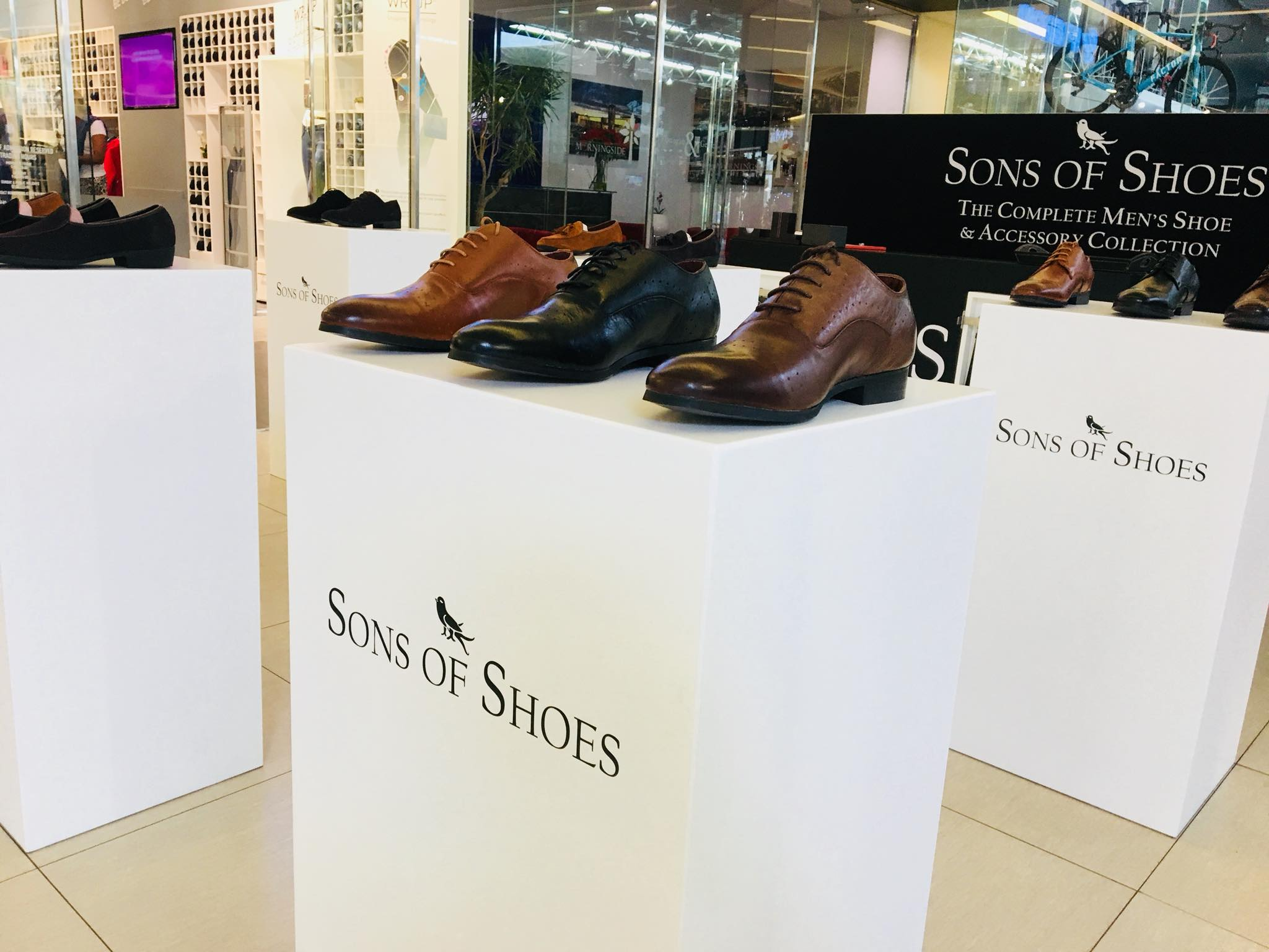 Umtunzi builds Sons of Shoes Pop Up Store