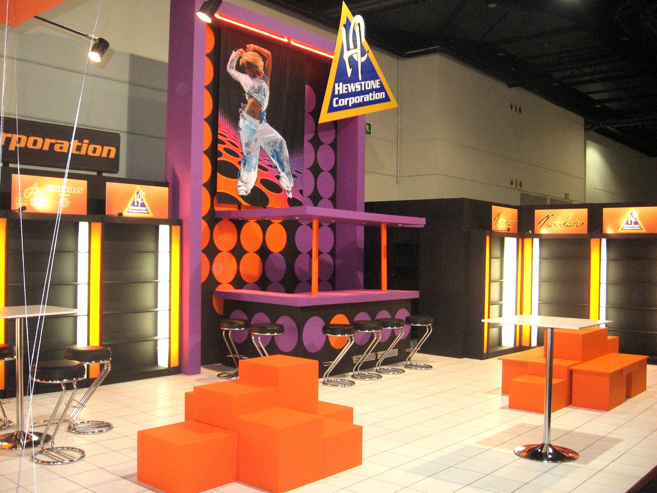 Exhibition Stands - Hewstone Corporation