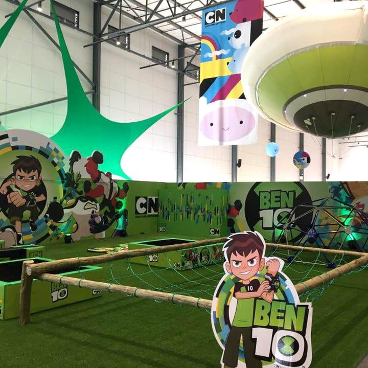 Mall Activations - Cartoon Network Ben 10