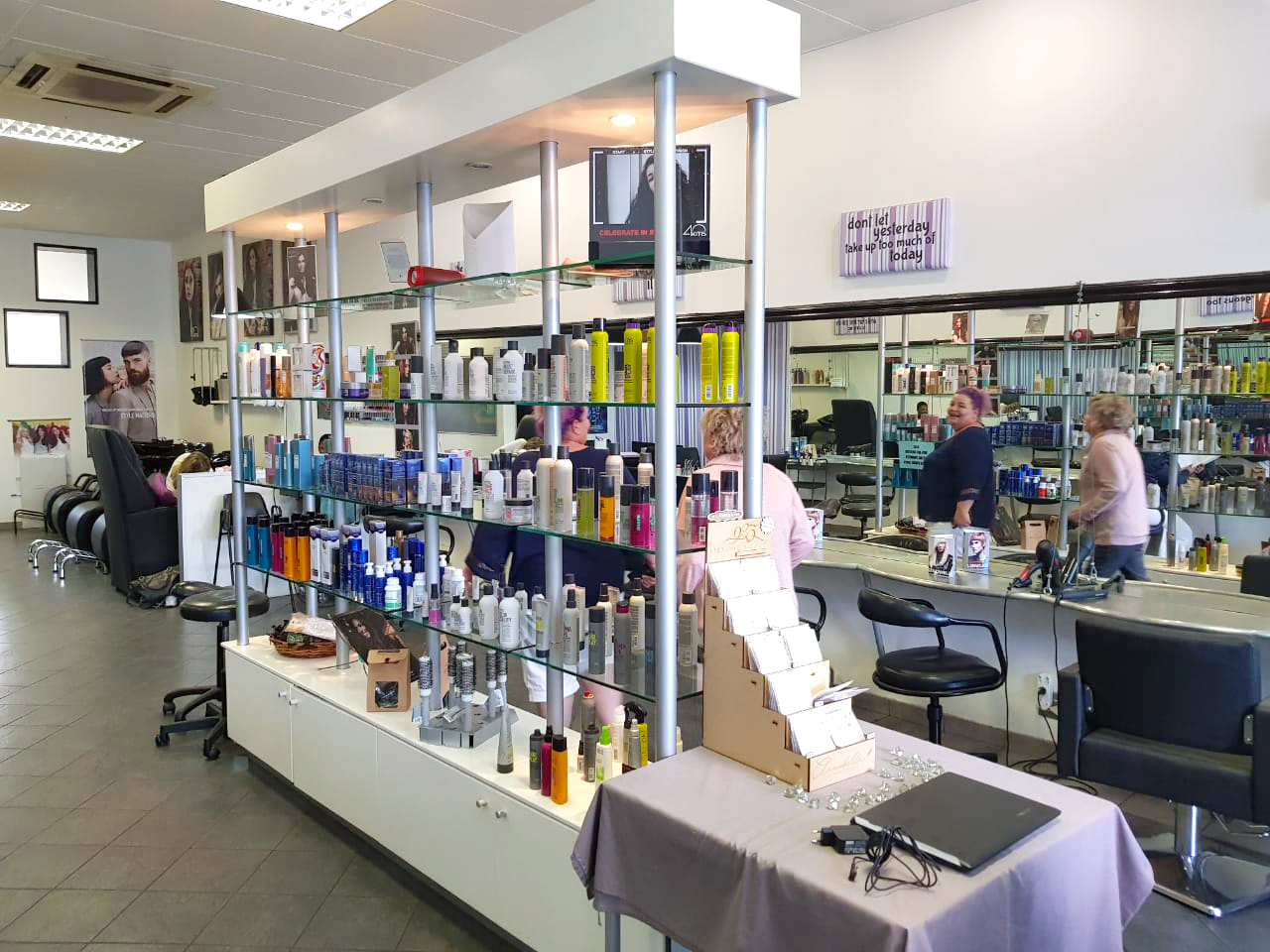 Shop Fitting - Cosmetic & Hair Product Stand