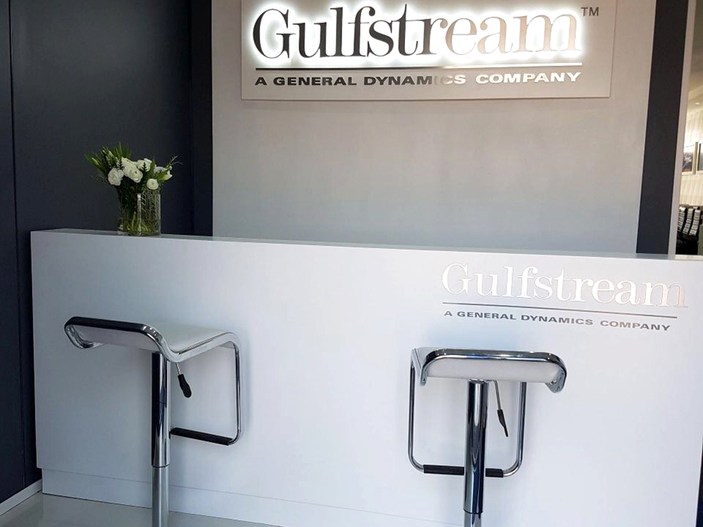 Shop Fitting - Gulfstream Counter