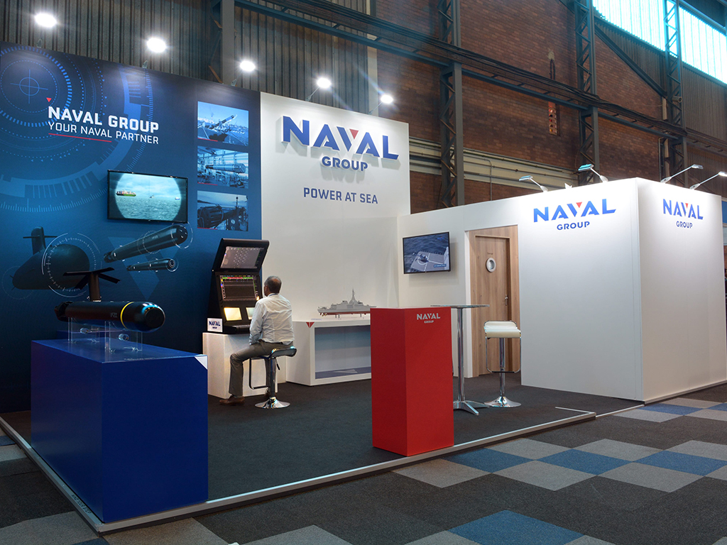 Exhibition Stands - Naval Group
