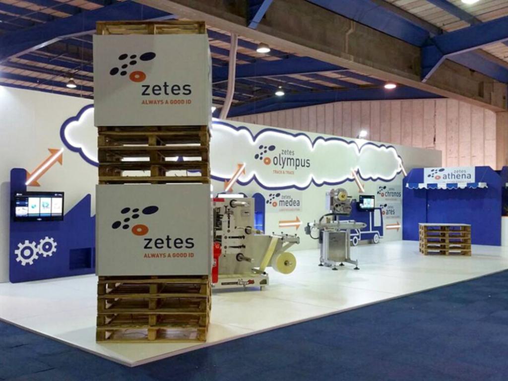 Exhibition Stands - Zetes