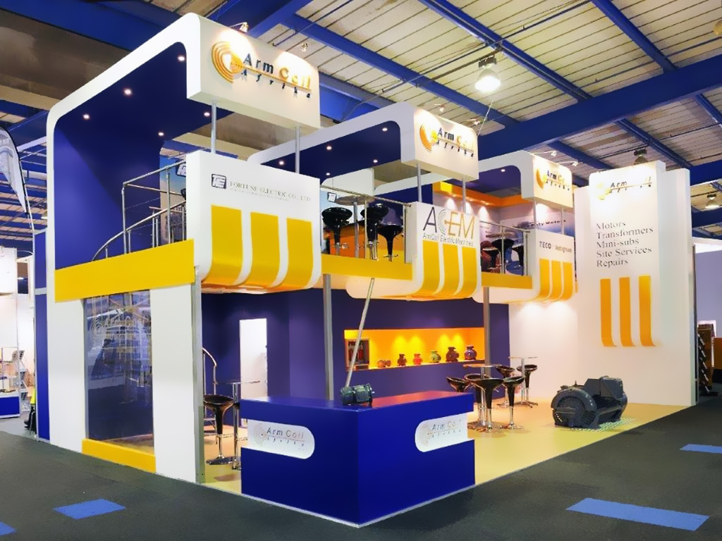 Exhibition Stands - Arm Coil Afrika