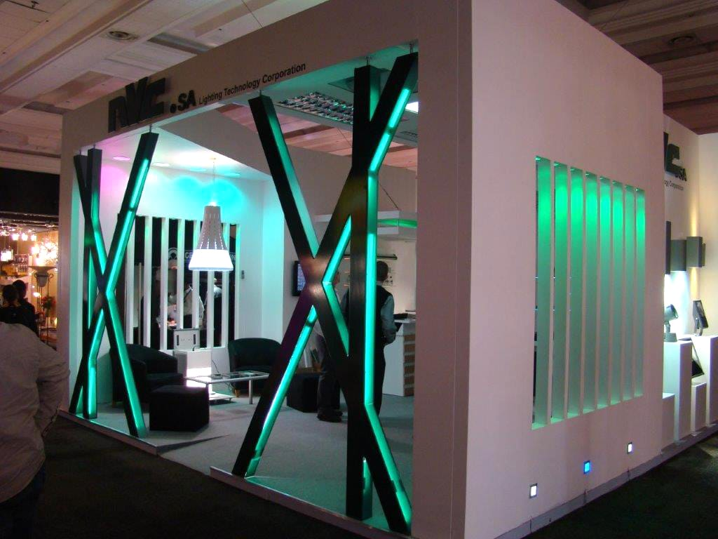 Exhibition Stands - Lighting Technology